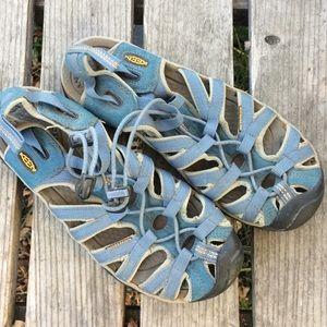 Keen Whisper Water Friendly Outdoor Sandal Blue